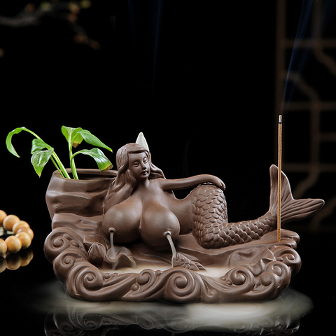 Exquisite purple sand beauty reflux incense burner - Get Yours Here