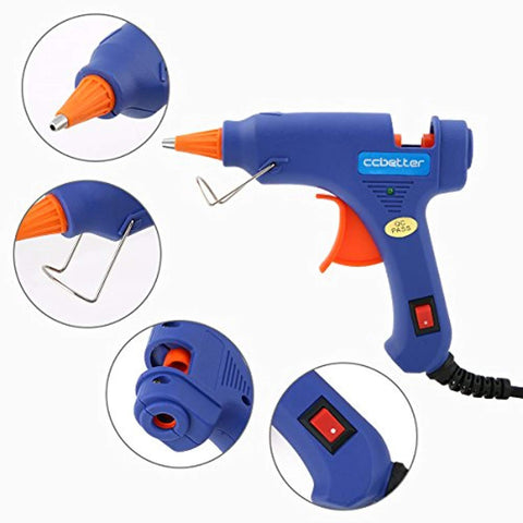 2019 Upgraded Mini Hot Melt Glue Gun - Get Yours Here