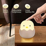 Chick Silicone Rechargeable LED Lamp - Get Yours Here