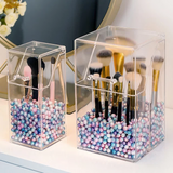 Dust-Proof Makeup Brush Holder - Get Yours Here