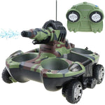 Amphibious Remote Control Tank With Water Jet - Get Yours Here