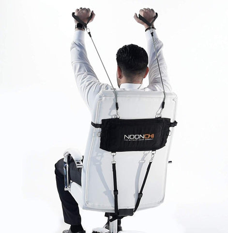 Noonchi chair workout, attaches to your office chair! - Get Yours Here