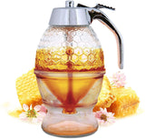 Honey Dispenser No Drip Glass-buy 2 free shipping - Get Yours Here