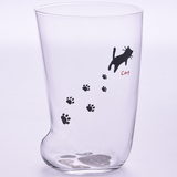 Novelty Cat Claw Frosted Glass  Cup-buy 4 free shipping - Get Yours Here