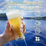 Upside Down Double Wall Beer Glass-buy 4 free shipping - Get Yours Here