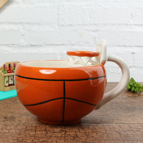 Basketball ceramic cup