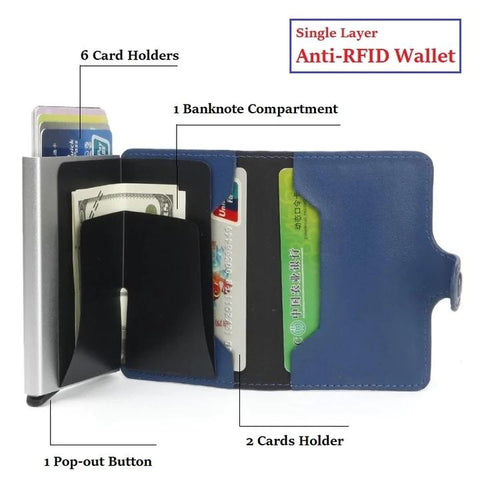 ANTI-RFID Premium Wallet--Protect your property💰 - Get Yours Here
