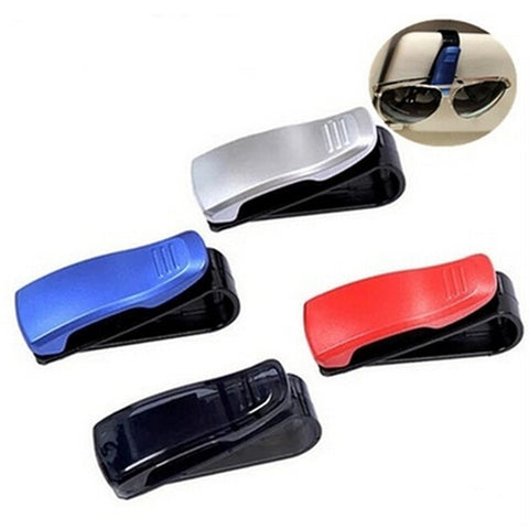 {4 PCS} Vehicle Sun Visor Sunglasses Eyeglasses Glasses Ticket Holder Clip - Get Yours Here