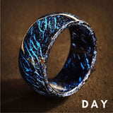 Wooden Luminous Ring - Buy Two Free Shipping - Get Yours Here