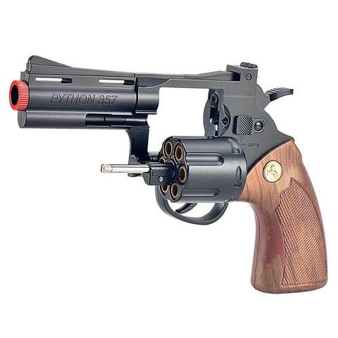 LM PYTHON 357 REVOLVER PISTOL SOLID WOOD - Get Yours Here