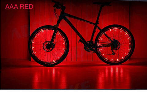 ONLY 3Days Left!!!)LED Bike Wheel Lights Get 100% Brighter and Visible from All Angles for Safety & Style - Get Yours Here