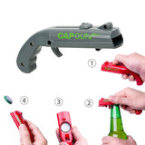 40%OFF-NEW Firing Cap Gun Creative Flying Cap Launcher Bottle Beer Opener - Get Yours Here