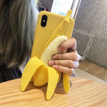 40%OFF- Magic 3D Soft Touch Banana IPhone Case - Get Yours Here