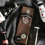 Magnetic Solid Wood Basketball Bottle Opener - Buy 2 Free shipping - Get Yours Here