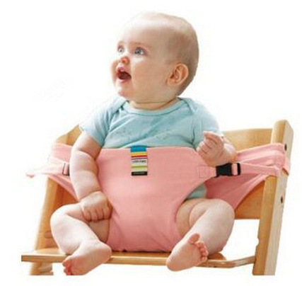 Portable baby safety belt Suitable for any chair - Get Yours Here