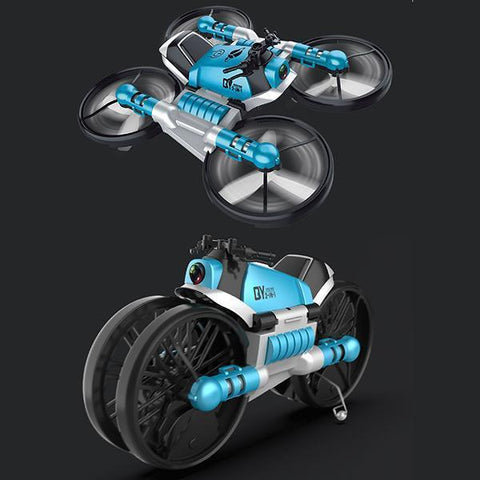 New folding remote control deformation motorcycle - Get Yours Here