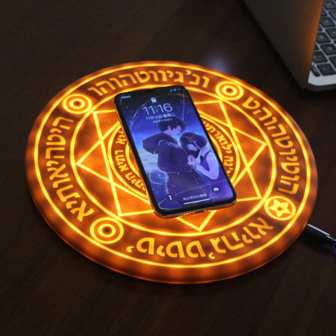 10W Painted Magic Array Mobile Phone Wireless Charger - Get Yours Here