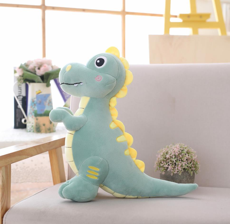 1pc 40-90CM Big Size Cute Stuffed Down Cotton Dinosaur Plush Toys Cartoon Tyrannosaurus Rex Dolls Children Kids Birthday Gifts
