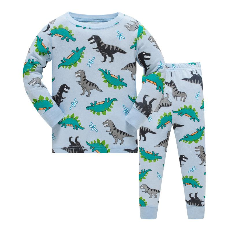 28 design boys Batman kids pajamas children sleepwear baby pajamas sets boys Dinosaur Car pyjamas pijamas cotton nightwear