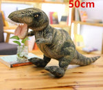 5 Styles Simulation Dinosaur Plush Toys Soft Cartoon Pillows Lifelike Tyrannosaurus Stuffed Doll for Boys Kids Birthday Gift
