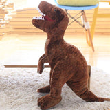 50cm-80cm Simulation Dinosaur Plush Toys Stuffed Animals Plush Dinosaur Pillow Tyrannosaurus Rex Dolls Kids Girls Gifts