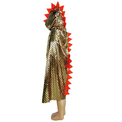 Boy Girl Birthday Party Costume Role Play Outfit Drama Opera Dinosaur Coat Cloak Hallooween Masquerade Children's Day