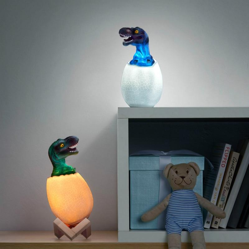 Chambre Dinosaure<br>Lampe Tyrex