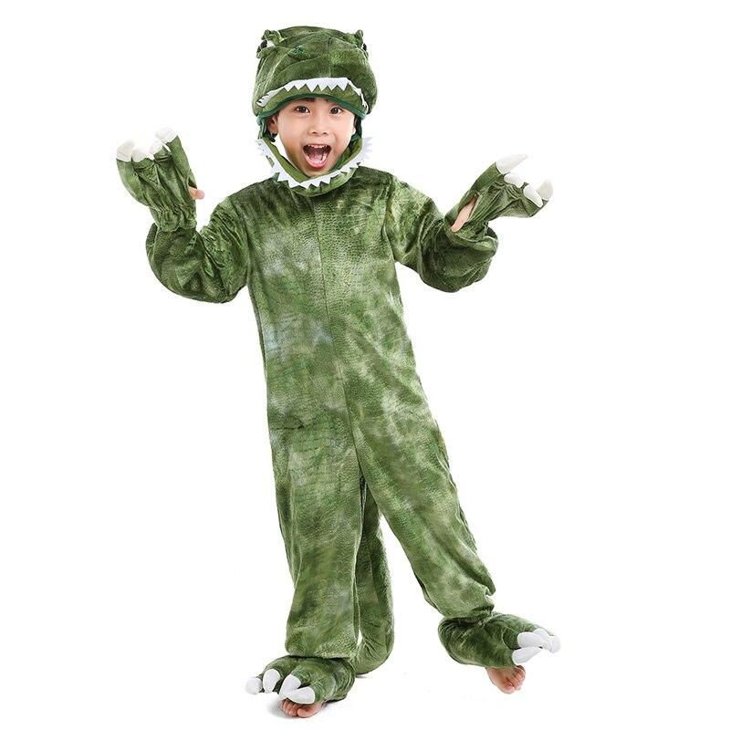 Deluxe Child's Toddler T-Rex Dinosaur Costume Kids Dinosaur Halloween Costume Child Cosplay Animal Party Costume