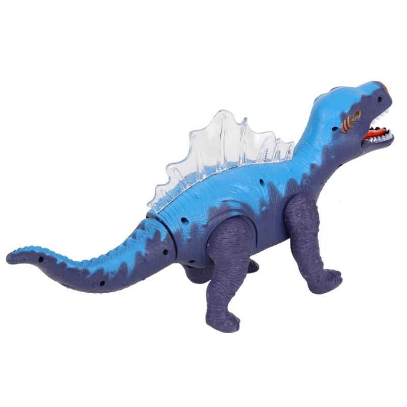Electric dinosaur toys Educational toys for children With music Light Walk Sounds Model Toys Material Safety Packaged