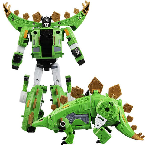HEIMANBA 6 IN 1 Transformation Robot Movie Toys Kids Boys Dinosaur Action Figures Deformation Classic KO GT children Toys Gifts