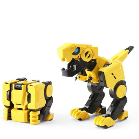 Jouet Dinosaure<br>Cube Transformable Robot Tyrannosaure