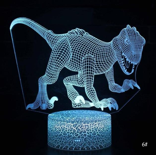 Lampe Dinosaure <br />Veilleuse LED