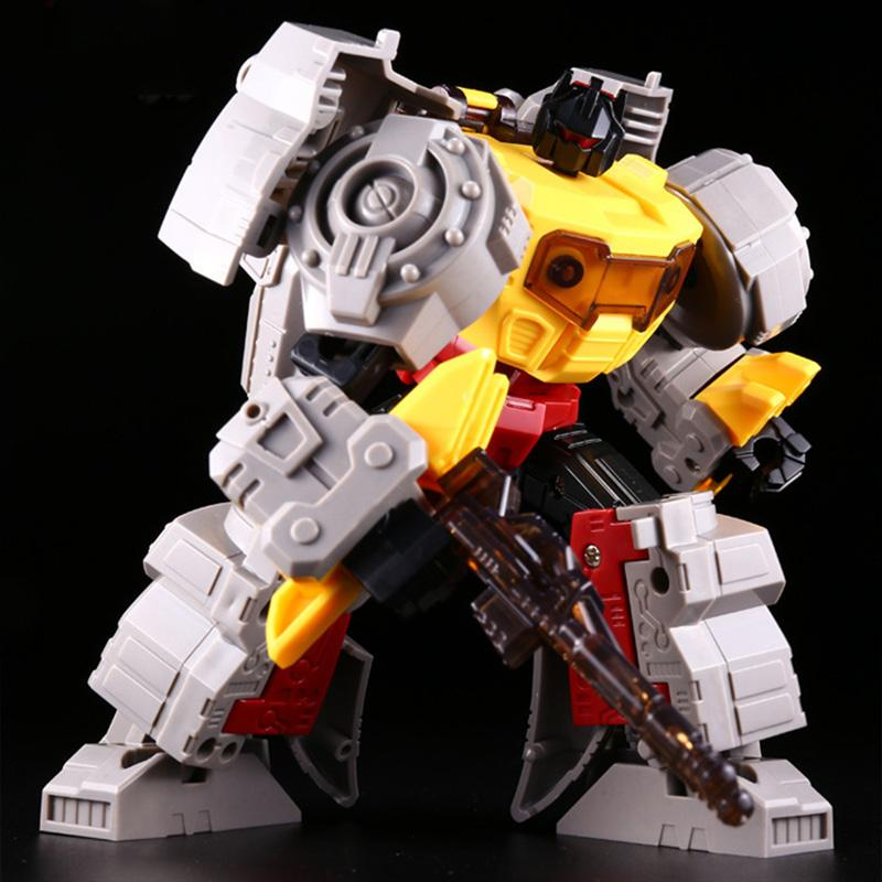 Lensple Assembled Dinosaur Model Transformation Robot Deformation Toys Grimlock G1 Action Figure Best Birthday Gifts For Kids
