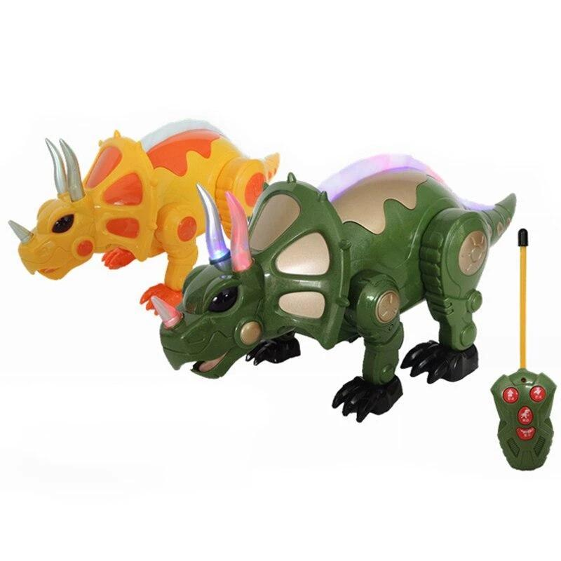 New arrival, RC dinosaur Simulation of remote control animal RC Dinosaur toy best gift for kids free shipping