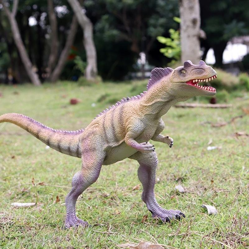 Oenux Prehistoric Dinosaur World Park T-Rex Action Figures Soft Vinyl PVC Jurassic Velociraptor Mosasaurus Model Collection Toy