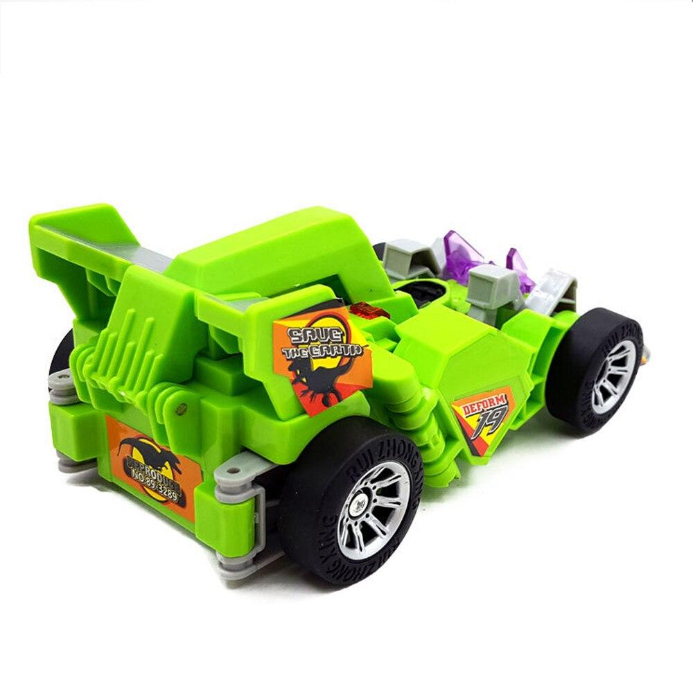 Promotion, Dinosaur Transformation electric car sound and lighting Multi-functional toys Robot Model Gifts For children