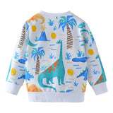 Pull Dinosaure<br>paysage