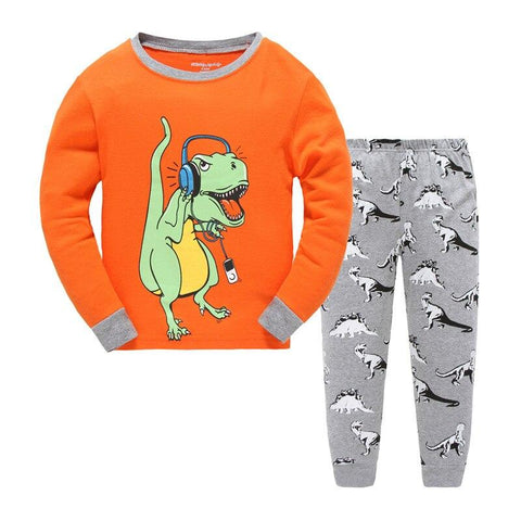 Pyjama Dinosaure<br>Tyrex Orange