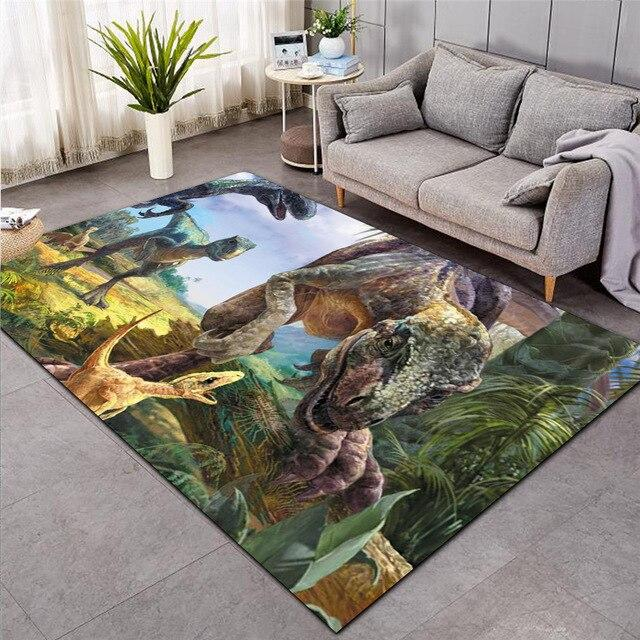 Tapis Dinosaure <br />Jungle