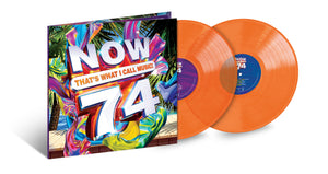 Various Artists	- NOW That's What I Call Music Vol. 74 (2 LP Translucent Orange)