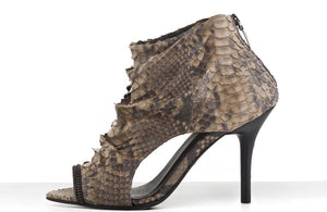 FURY DISA SANDALS PYTHON BEIGE SIDE
