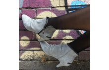Load image into Gallery viewer, FURY SIG MID HEEL ANKLE BOOTS NUBUCK GREY