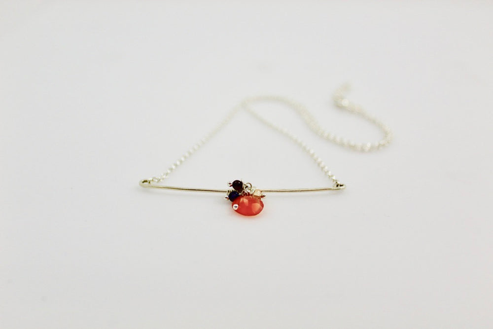 Tasteful Little Taste Necklace - Carnelian