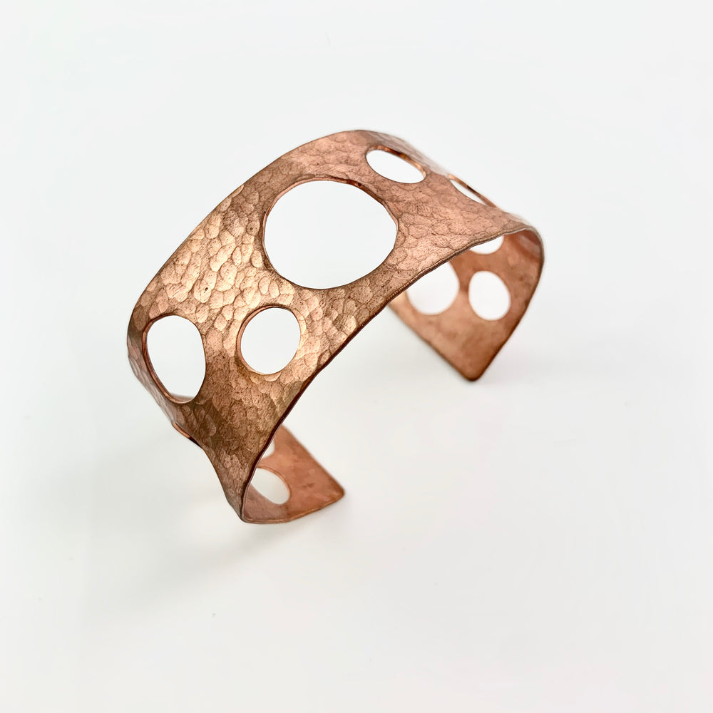 Copper Bubble Cuff
