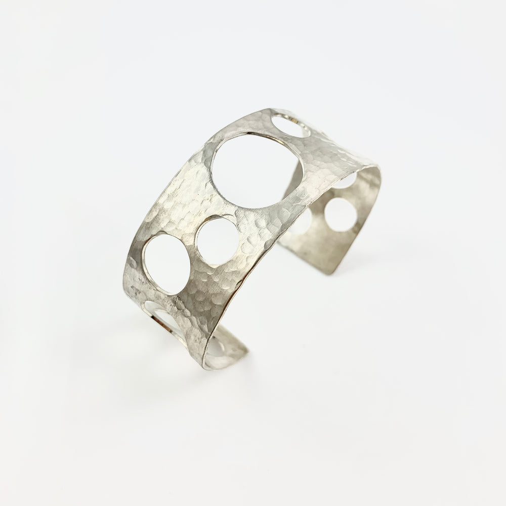 Hammered Bubble Cuff