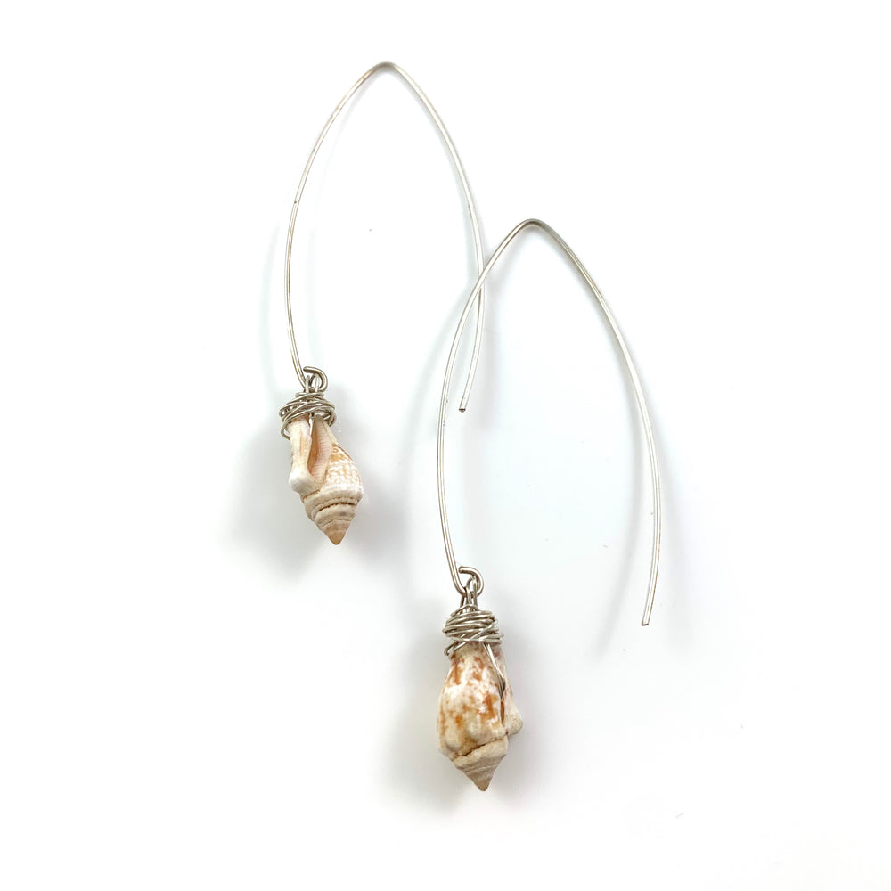 Long Shell Earrings