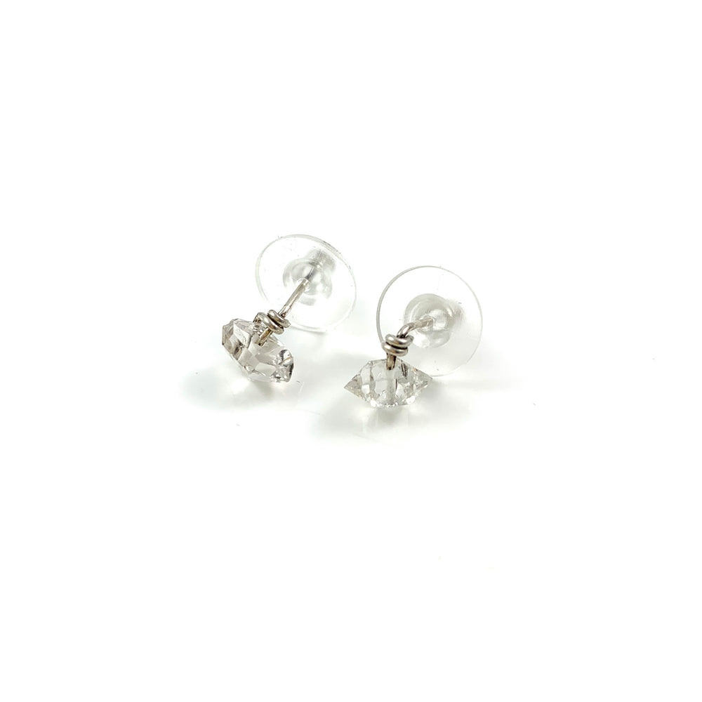 Herkimer Diamond Stud Earrings