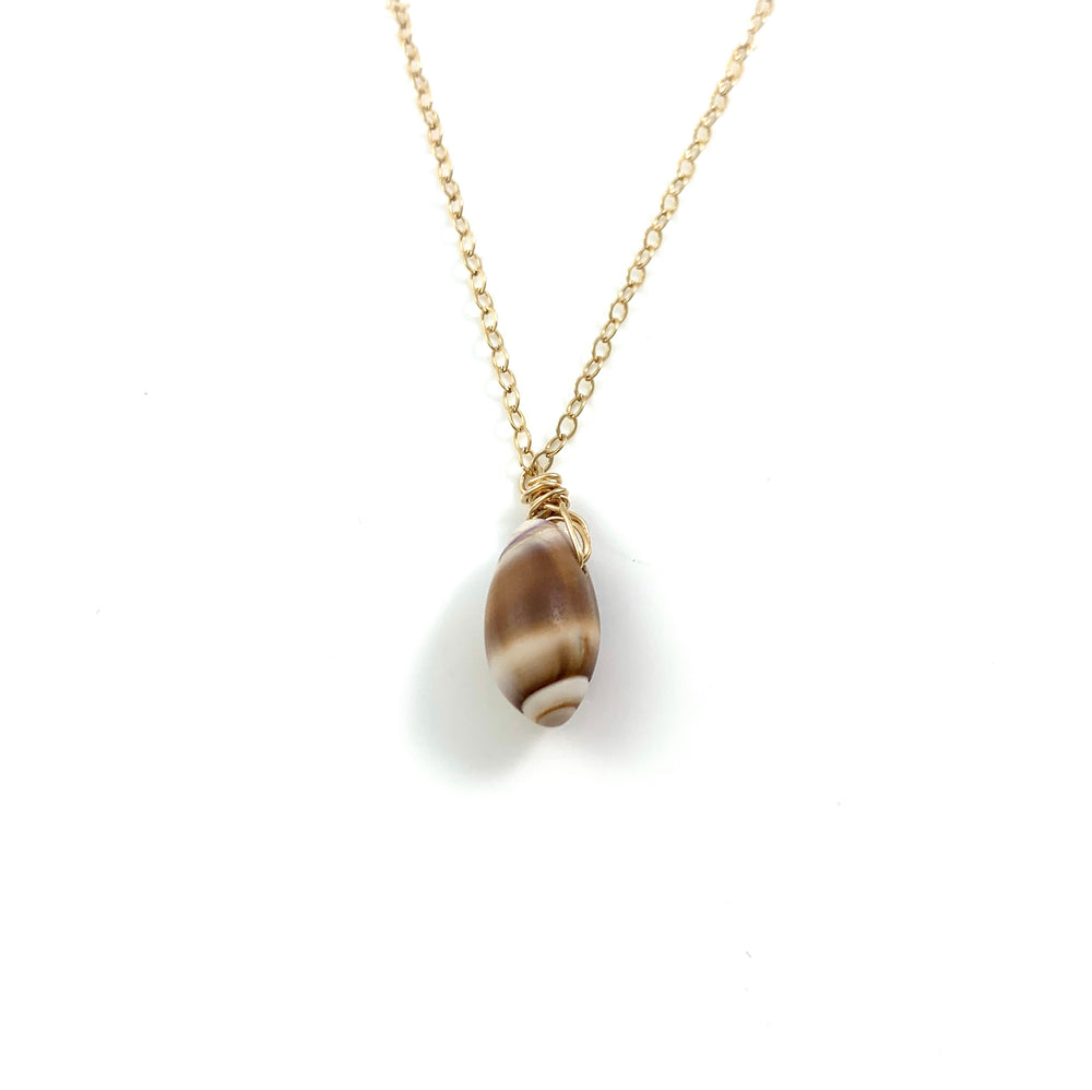 Simple Santa Barbara Shell Necklace