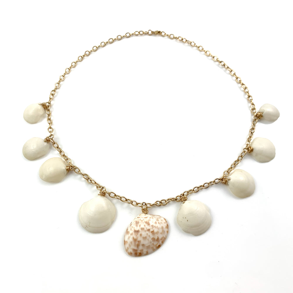 14k Gold Fill Cozumel Shell Necklace