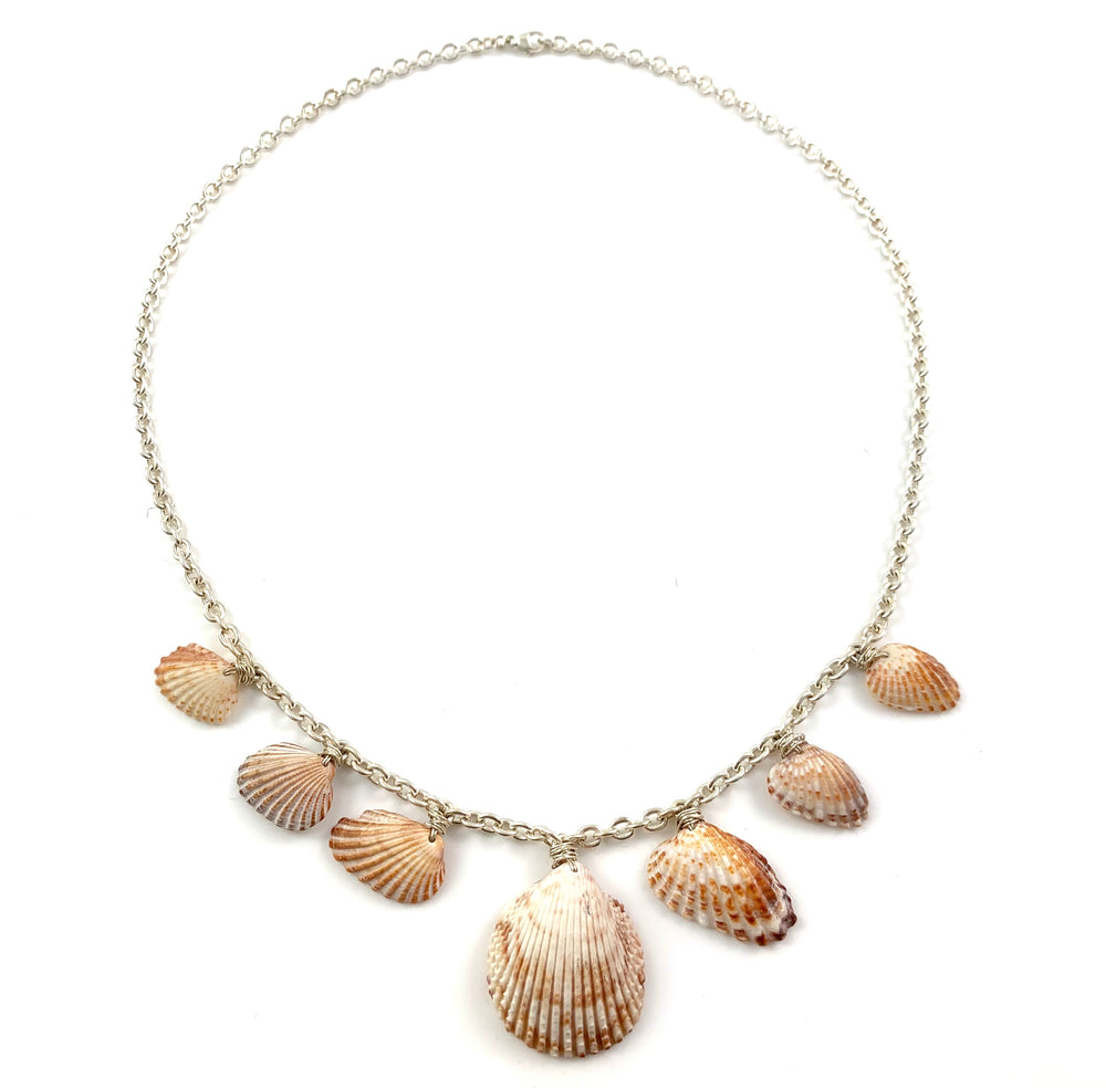 Sterling Silver Gulf Coast Shell Necklace